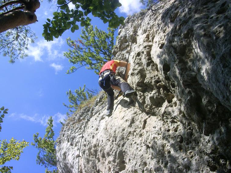 Klettersteig Höhenglücksteig : Klettern klettersteig höhenglücksteig frankenjura fränkische